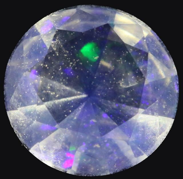 0.80 Cts Rare Faceted Tintenbar Opal PPP576