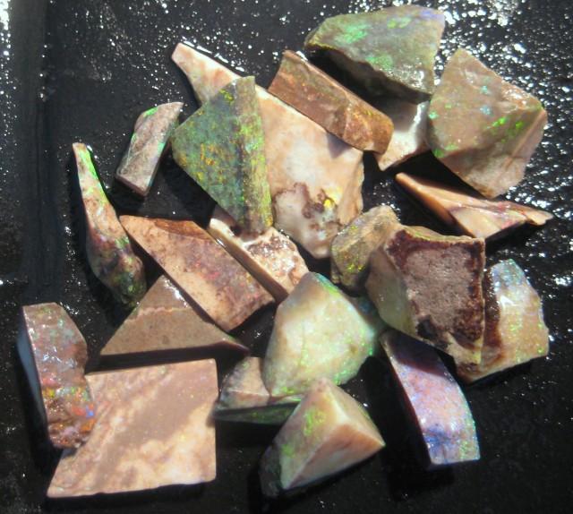 155.51ct Australian Andamooka Matrix Opal Rough, Has