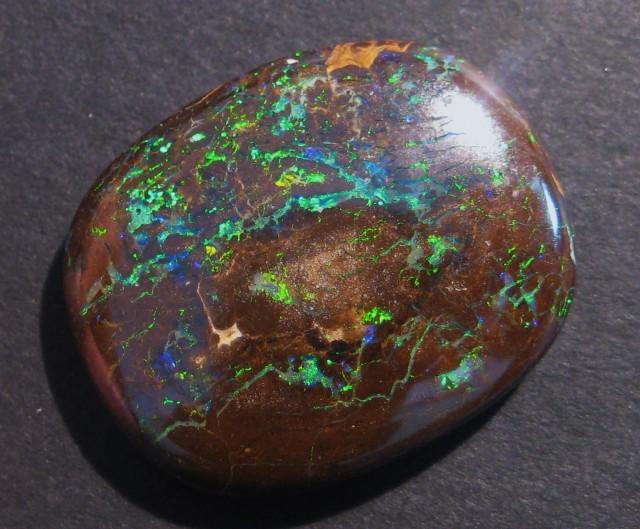 33.3ct Australian Queensland Boulder Opal Solid, 26x21mm