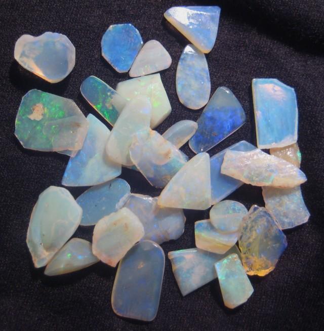 Parcel of Australian Andamooka Crystal Rough Opal