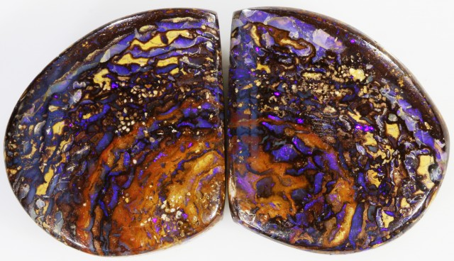 46.4 CTS BOULDER OPAL PAIR -WELL POLISHED [SO7492 ]