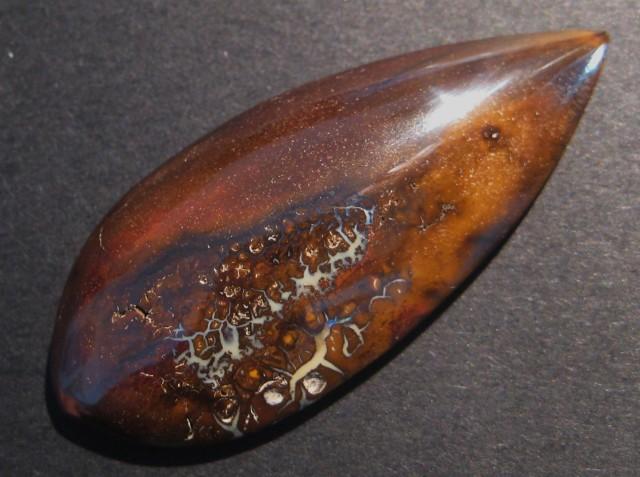 49.5ct Australian Queensland Boulder Opal Solid, 47x20mm