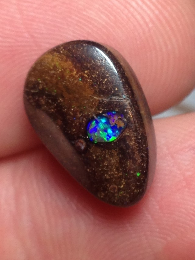 9cts Koroit Boulder Opal Picture Stone AC804