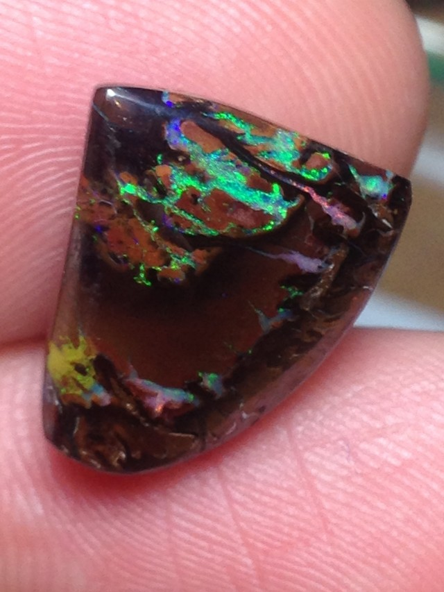12.5cts Koroit Boulder Opal Picture Stone AC807
