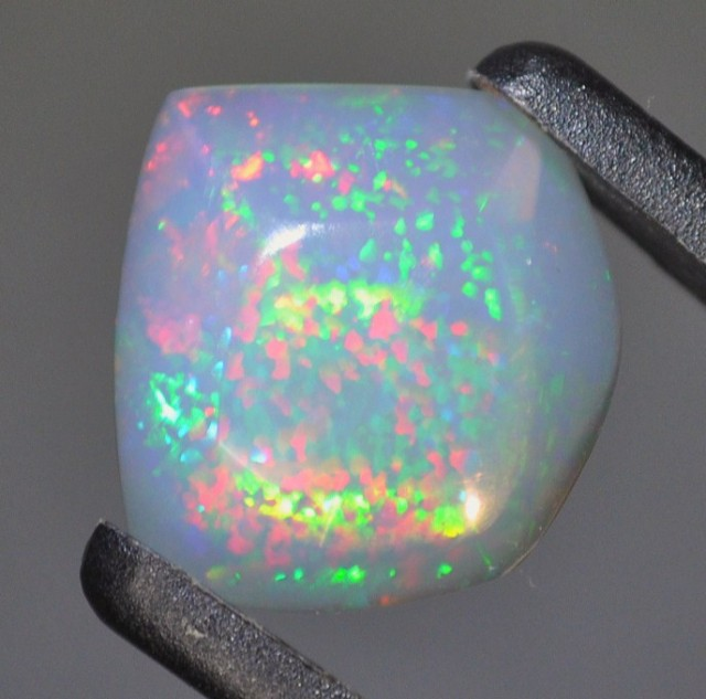 7.00ct ETHIOPIAN WELLO GEM WATER CLEAR BRILLIANT POINTS OF BRIGHT MULTI FIR
