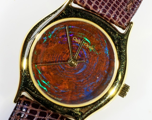 Ladies Exceptionale Opal Watch full face Opal CF 610