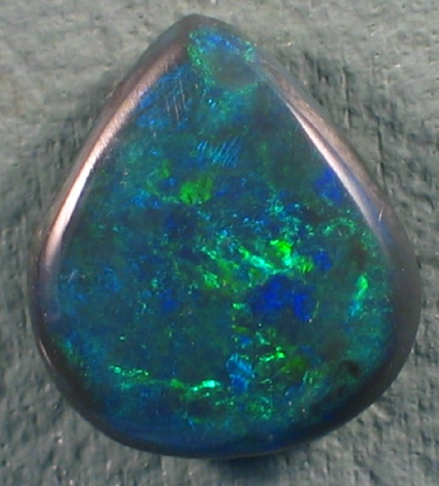 Solid Black  Opal (108) from Lightning Rodge