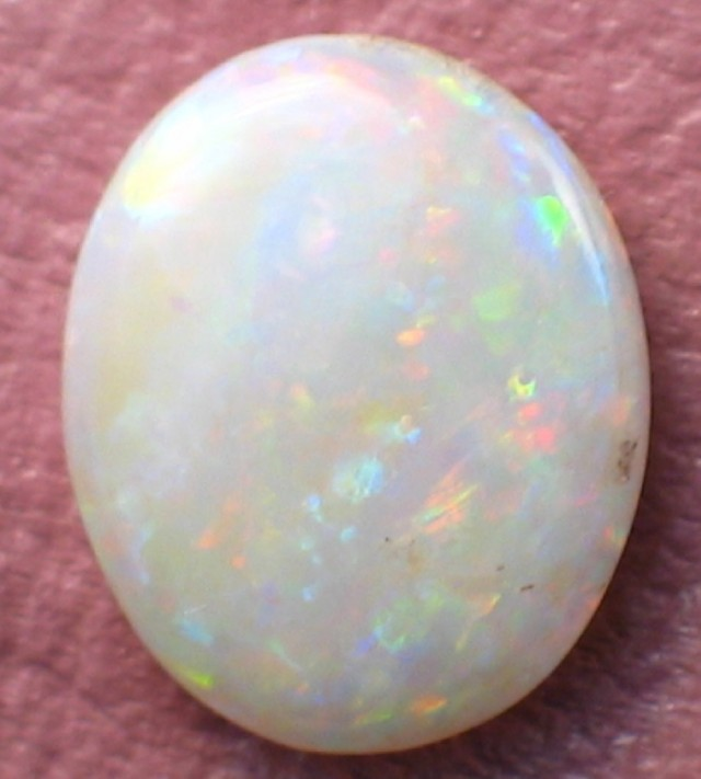 White Opal- Solid (95) from Coober Pedy