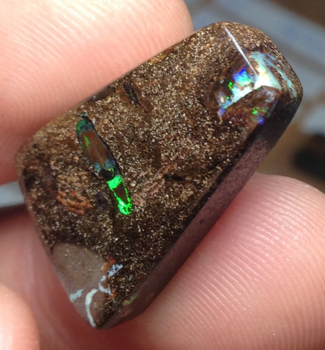 28cts Koroit Boulder Opal Picture Stone AC898