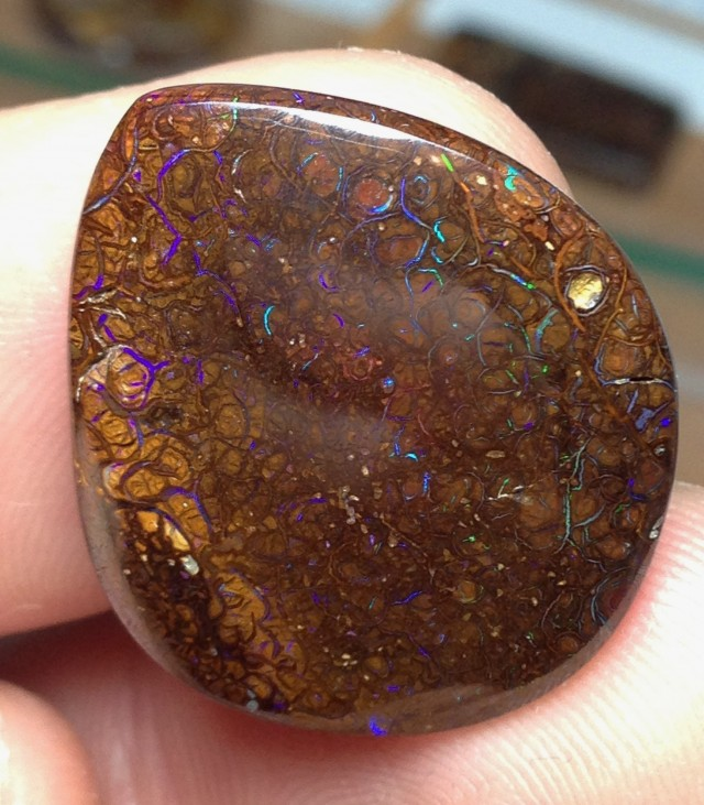 22cts Koroit Boulder Opal Picture Stone AC907