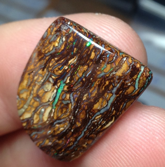 20.5cts Koroit Boulder Opal Picture Stone AC918