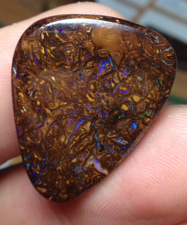 36cts Koroit Boulder Opal Picture Stone AC921