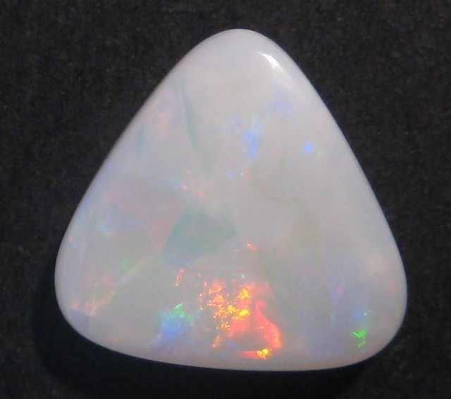 4.04ct Australian Coober Pedy White Base Opal Solid