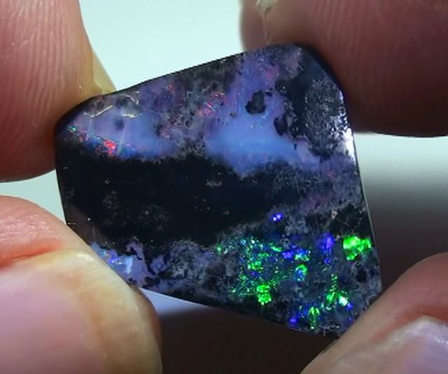 9.15 ct Beautiful Blue Green Natural Queensland Boulder Opal