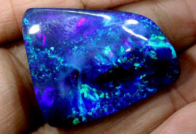43.15 CTS QUALITY  BOULDER OPAL POLISHED STONE INV-421 GC