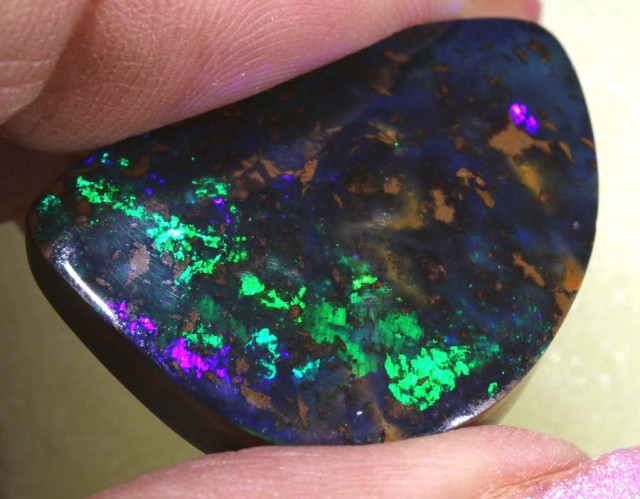 31.7 CTS QUALITY  BOULDER OPAL POLISHED STONE INV-423  GC