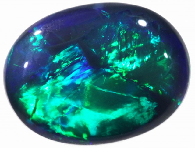2.10 CTS BLACK  OPAL - LIGHTNING RIDGE- [SO7867]WB