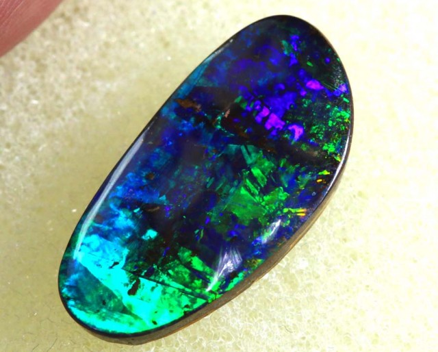 7 CTS QUALITY  BOULDER OPAL POLISHED STONE INV-448  GC