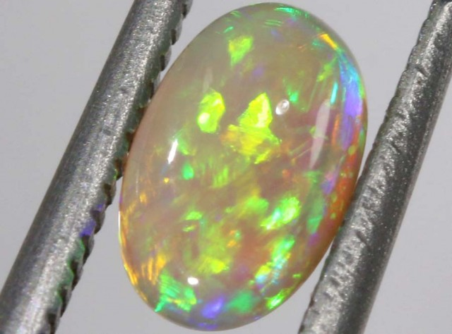 0.65 CTS BLACK CRYSTAL OPAL STONE  TBO-5674