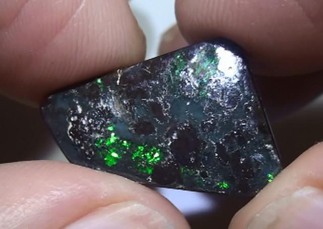 9.65 ct Gem Green Natural Queensland Boulder Opal