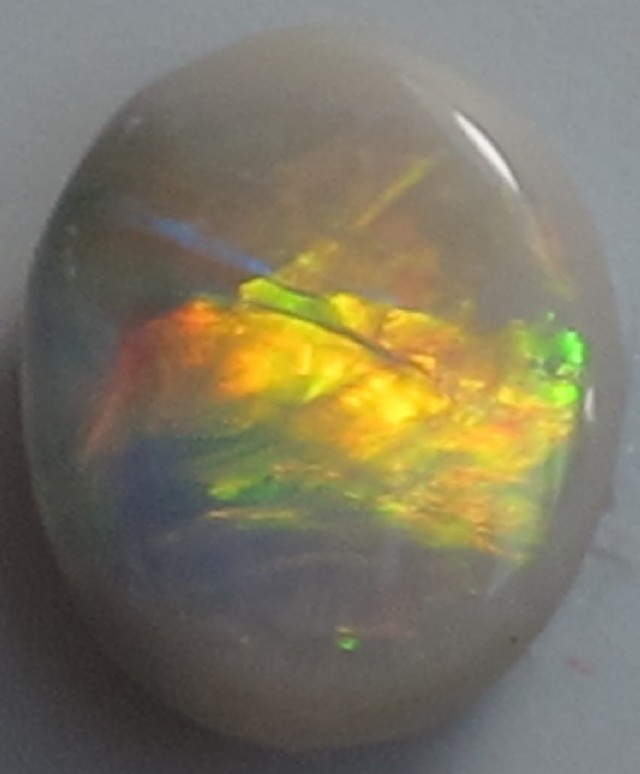 Solid Dark  Opal (141) from Lightning Rodge,1.05 ct.