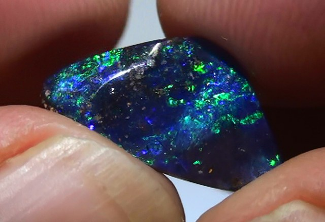 4.50 ct Top Gem Blue Green Natural Queensland Boulder Opal