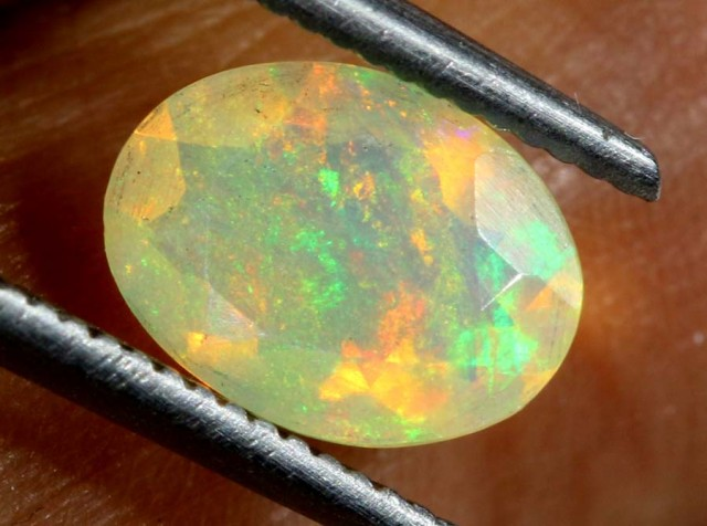 0.75 CTS ETHIOPIAN WELO FACETED STONE FOB-926