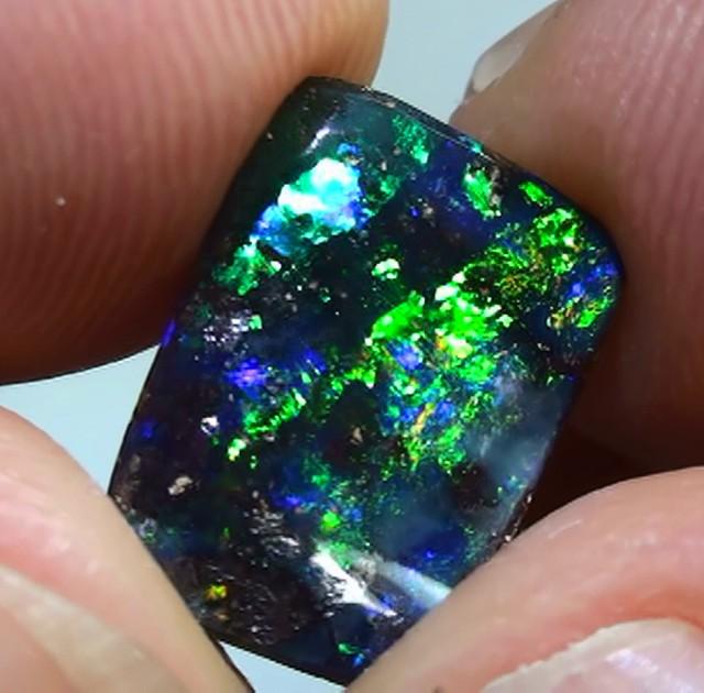 3.40 ct Gem Blue Green Queensland Boulder Opal
