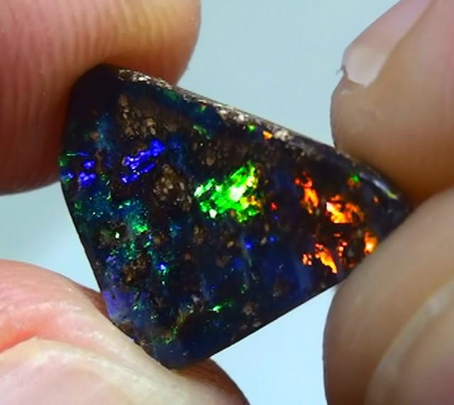 2.30 ct Boulder Opal With Gem Multi Color