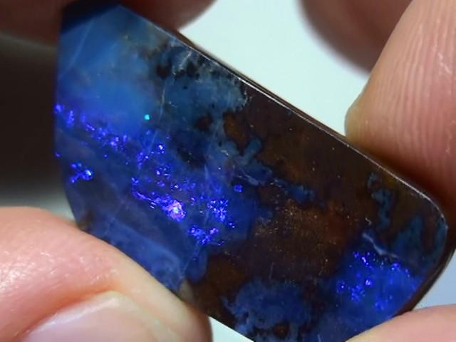 18.45 ct Blue Natural Queensland Boulder Opal