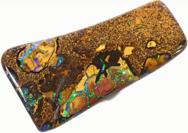 48.9 cts Well polished Koroit Boulder opal BU2660