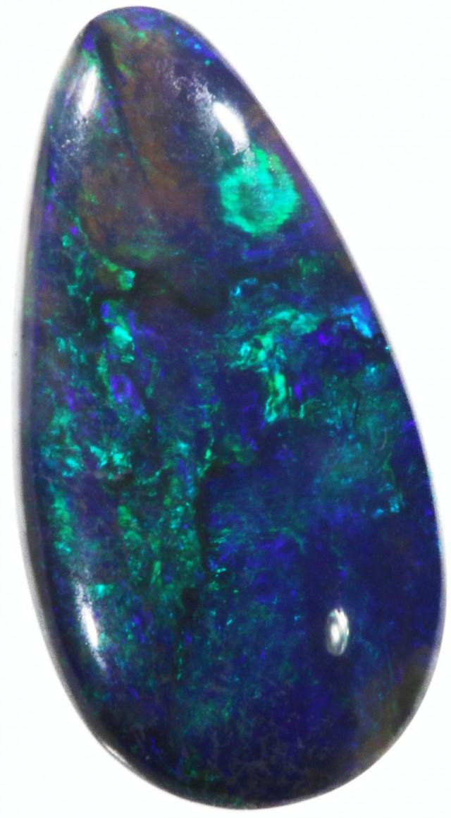 1.2 Cts Bright Black Opal  CF 762