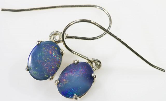 Modern design Opal Doublet Earring SB 413