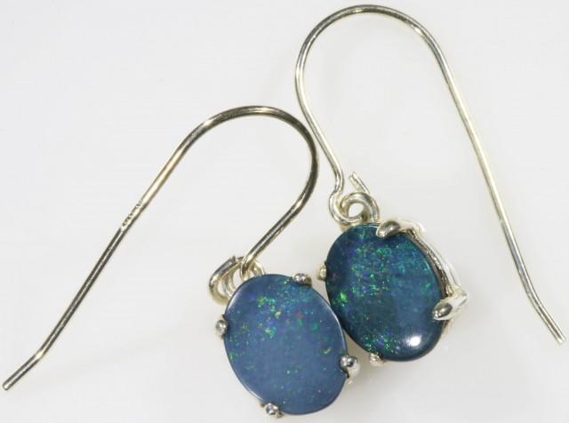 Modern design Opal Doublet Earring SB 416