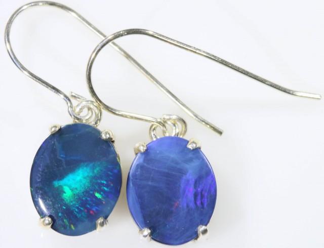 Modern design Opal Doublet Earring SB 417