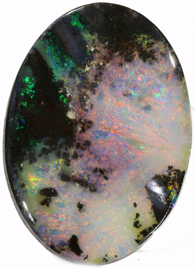 12.42 CTS WELL POLISHED BOULDER OPAL SAFE [BMA4223]
