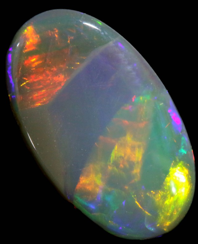 2.46 CTS SEMI BLACK OPAL - LIGHTNING RIDGE- [SO8206]