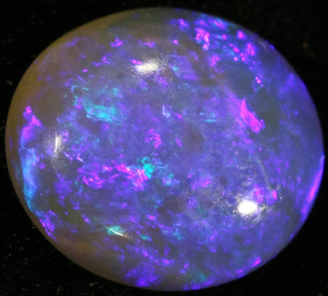 2.76 CTS SOLID CRYSTAL OPAL LIGHTNING RIDGE [SC4]