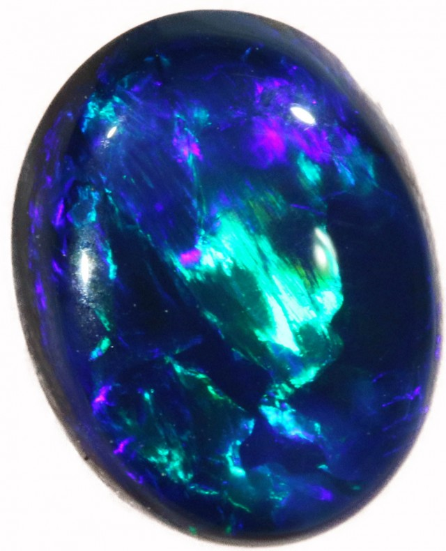 1.53 CTS BLACK  OPAL - LIGHTNING RIDGE- [SOB36]