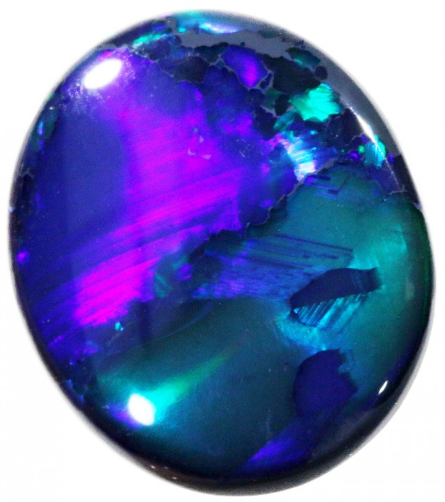 3.69 CTS BLACK  OPAL - LIGHTNING RIDGE- [SOB41]