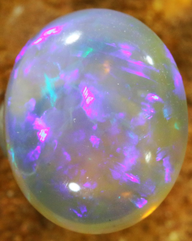 2.10 CTS CRYSTAL OPAL FROM LIGHTNING RIDGE [SC49]