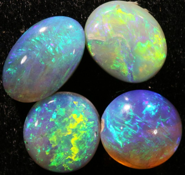 3.15 CTS PARCEL OF CRYSTAL OPALS - LIGHTNING RIDGE[SCO25 ]