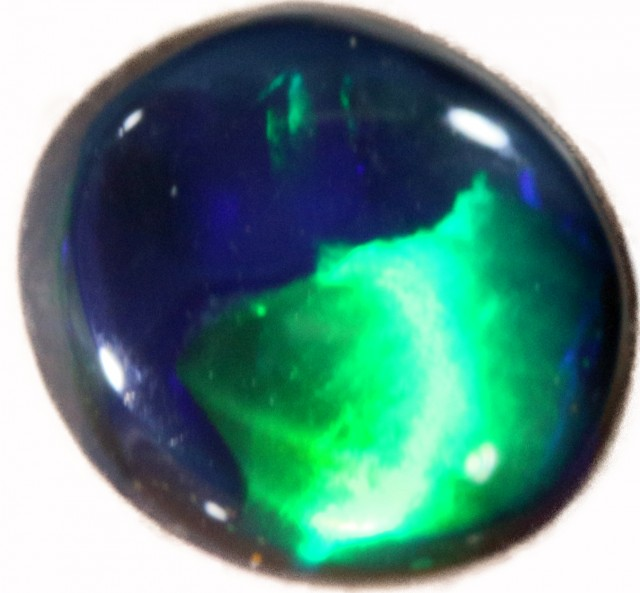 0.65 CTS BLACK  OPAL - LIGHTNING RIDGE- [SOB72]