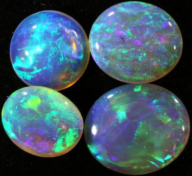 3.95 CTS PARCEL OF CRYSTAL OPALS - LIGHTNING RIDGE[SCO51 ]