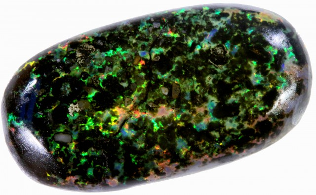 13.20 CTS INDONESIAN  BLACK OPAL STONE [VS7455]