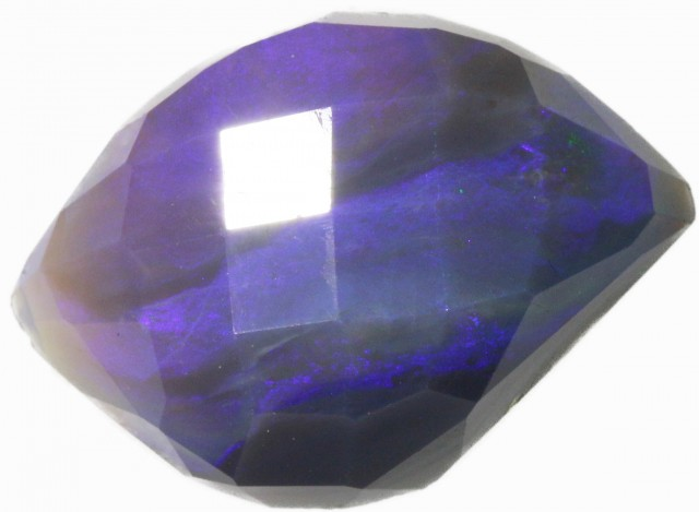 10 CTS FACETED BLACK OPAL [BF19]