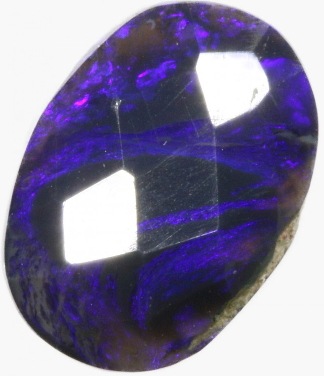 1.7 CTS FACETED BLACK OPAL [BF34]