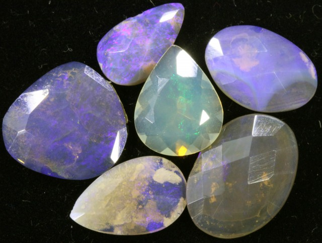 13.2 CTS FACETED CRYSTAL OPAL PARCEL [SO8249]