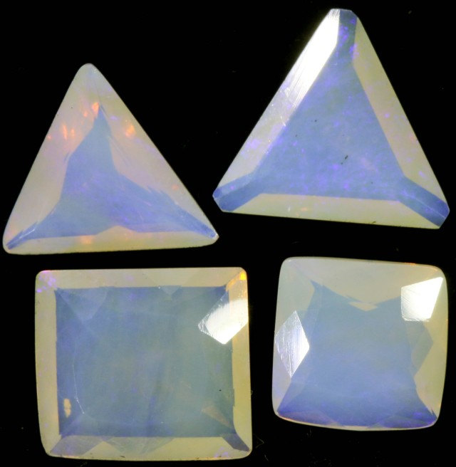 13 CTS FACETED CRYSTAL OPAL PARCEL [SO8250]