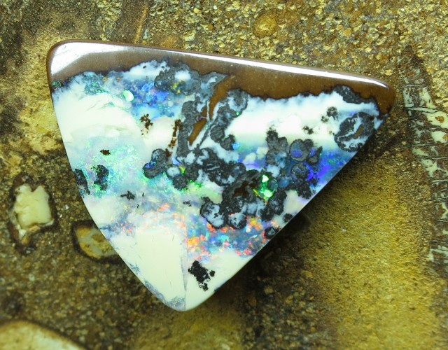 "8cts.""BOULDER OPAL~WOW STONE"""